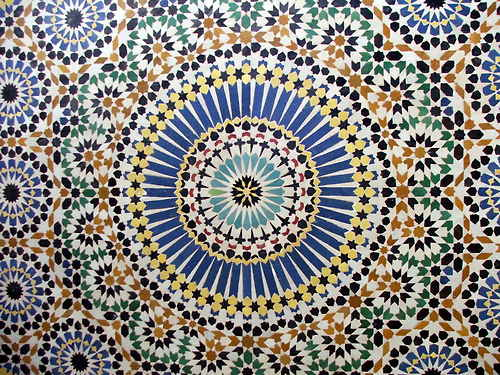 islamic tile pattern